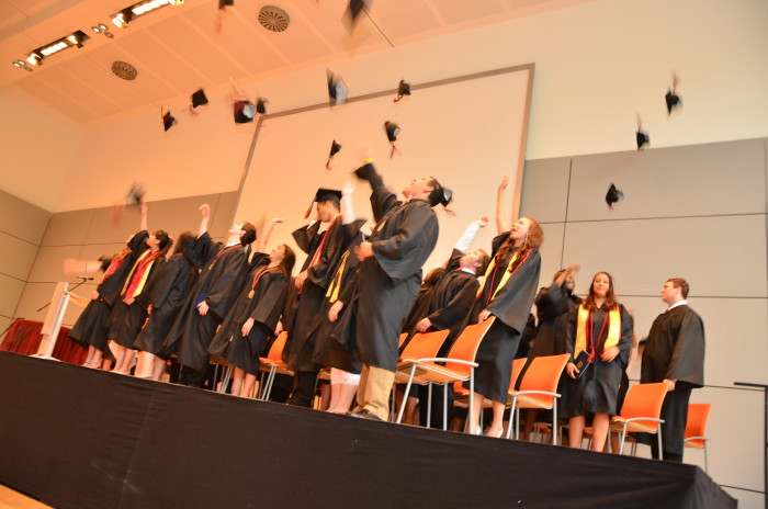 3. Your graduating class had under 100 people, and you can still remember all of their names.