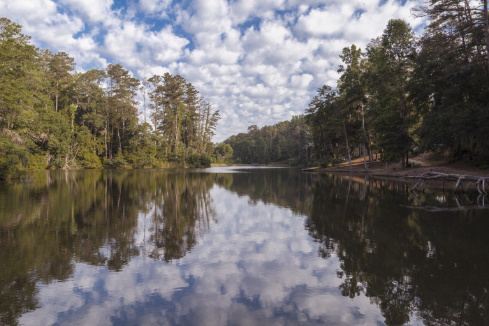 6. ...gorgeous lakes are responsible for most of Alabama's natural scenic beauty.