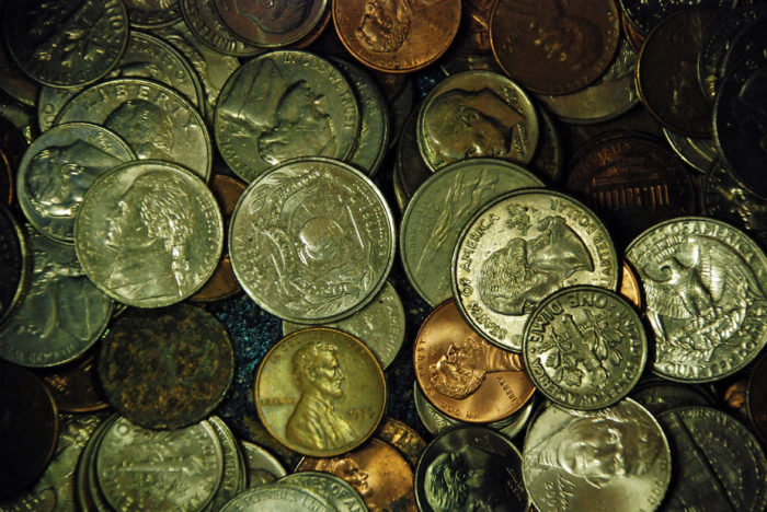 """3. E Pluribus Unum, """"out of many, one,"""" is a phrase found on most American coins."""