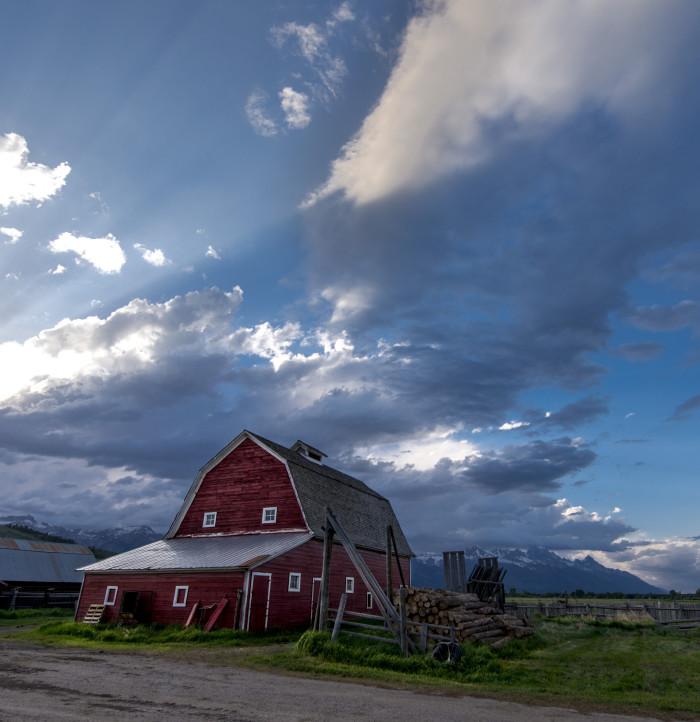 11. Barn near Jackson