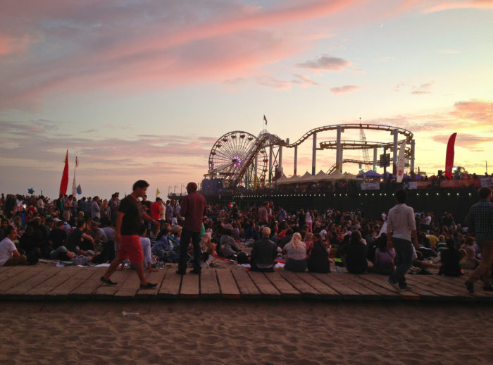 3. Santa Monica Pier's Twilight Concert Series runs every summer and the crowd is spectacular. Pack some snacks and a blanket and get there early to snag a space close to the stage.