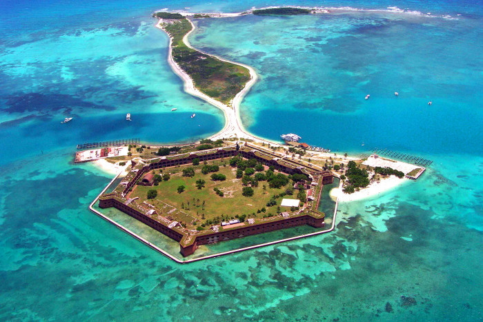 14. Fort Jefferson, Florida