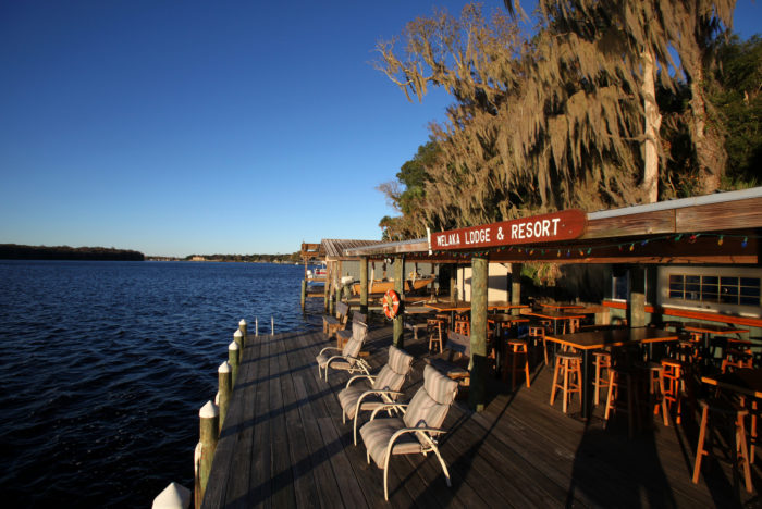 16. Book an Old Florida getaway at one of our many lodges and fish camps.