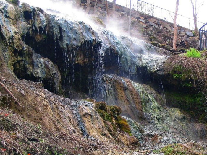 Don't forget to take a stroll around Hot Springs National Park.
