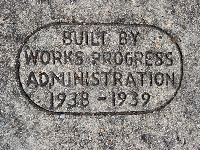 1. It cost $430,000 to build, funded by the Works Progress Administration, part of Franklin Roosevelt's effort to end the Great Depression.