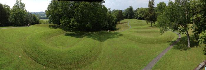 10. Great Serpent Mound (Peebles)