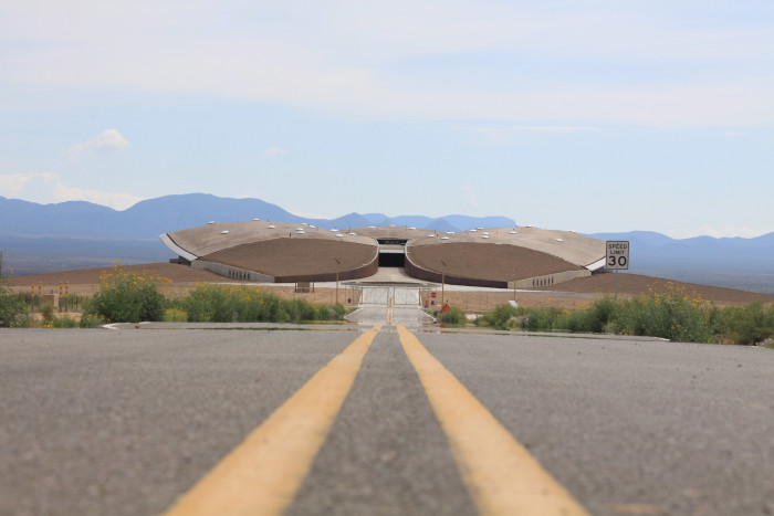 1. Spaceport America, near Truth or Consequences