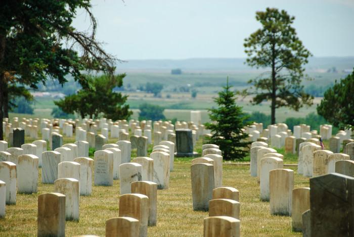 11. Little Bighorn Battlefield National Monument