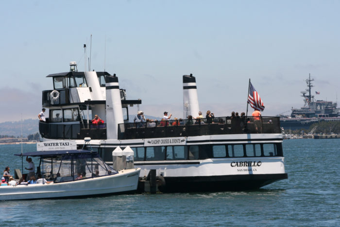 2. Why drive across the bridge when you can take the Coronado Ferry? Hop aboard and take the ferry from downtown San Diego to the heart of Coronado. Spend the day in Coronado shopping, dining, sightseeing and biking along the waterfront. Once you get there you may never want to leave.