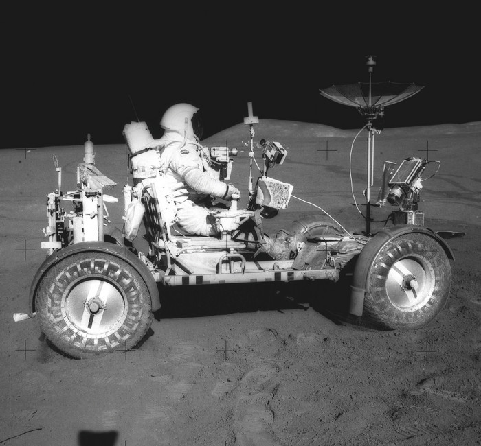 8. Apollo astronauts in the 1960s learned how to navigate the lunar landscape by training in northern Arizona.
