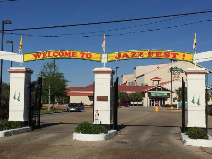 8. Jazz Fest, April 20-May 1, Fairgrounds, New Orleans, LA