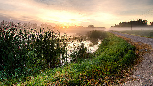 11. Every morning is a beautiful morning in rural South Dakota.