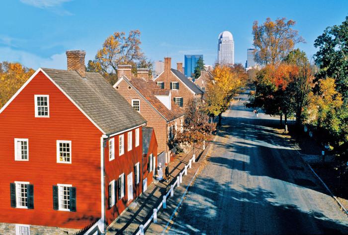 8. Old Salem, Winston-Salem