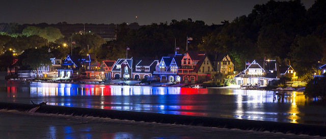 1. Boathouse Row, Philadelphia