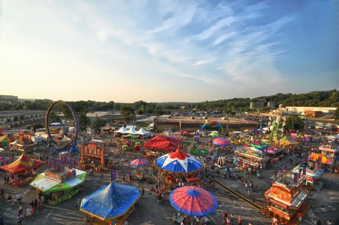 2. Every year you looked forward to the state fair, because it was the most exciting thing to happen in your tiny town.