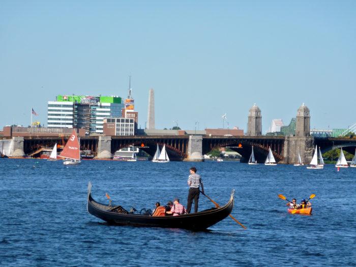 9. Charles River Gondola, Boston