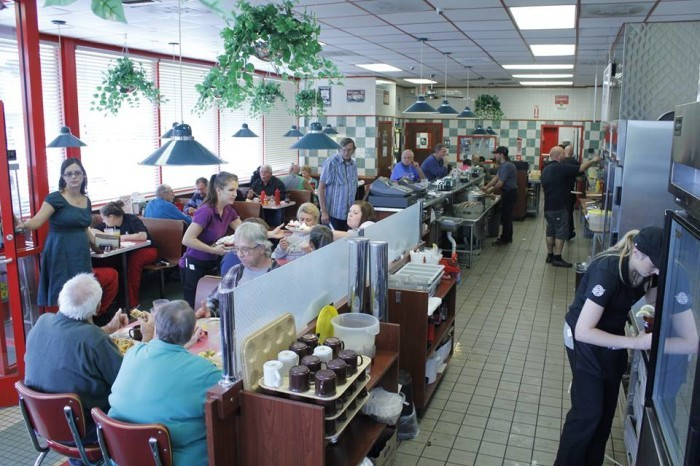 2. Grab a delicious breakfast at one of our many great diners.