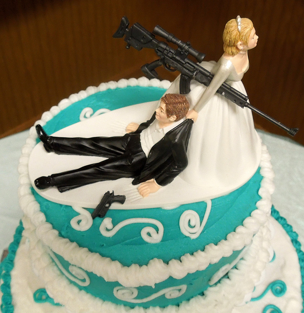 1. It's illegal to discharge a firearm at a wedding in Pennsylvania.