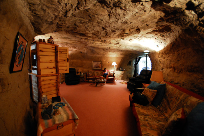 15. Kokopelli's Cave, New Mexico