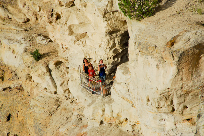 Kokopelli's Cave, outside Farmington New Mexico