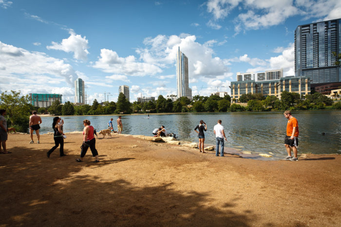 11. Soak up views of the lake and the city at Auditorium Shores - A place that is quite often frequented for picnics and hanging out.