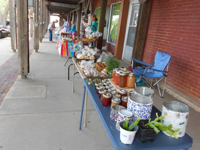 12.  Dodge City Farmers Market (Wyatt Earp Blvd., Dodge City)