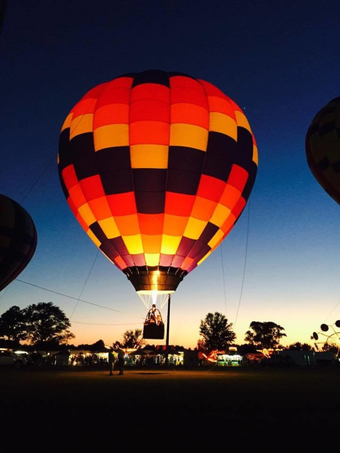3. Gulf Coast Hot Air Balloon Festival - Foley, AL