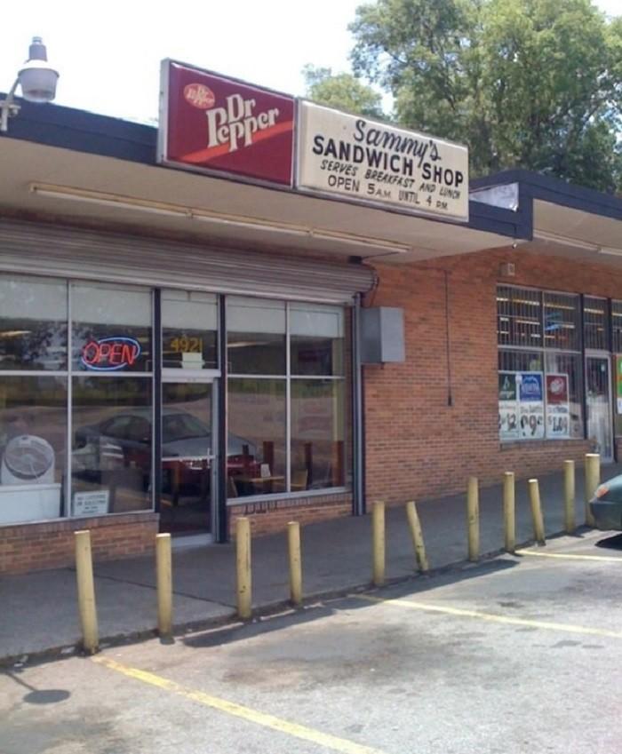 13. Sammy's Sandwich Shop - Birmingham, AL