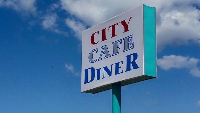 1. City Cafe Diner - Huntsville, AL