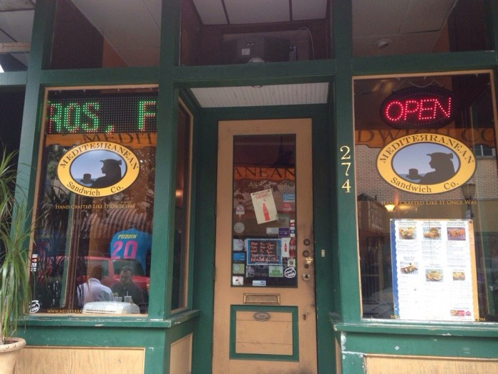 4. Mediterranean Sandwich Co. - Mobile, AL