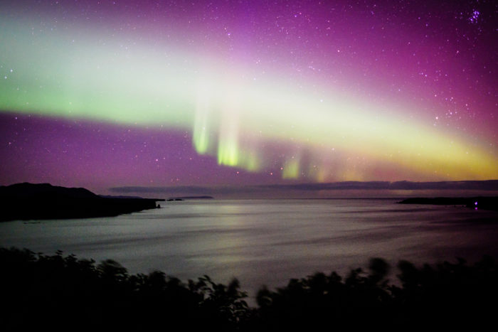 16. Post up for an Aurora Borealis show.