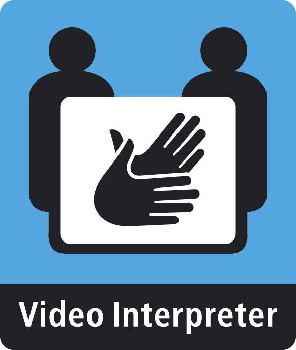 Video Interpreter Sign