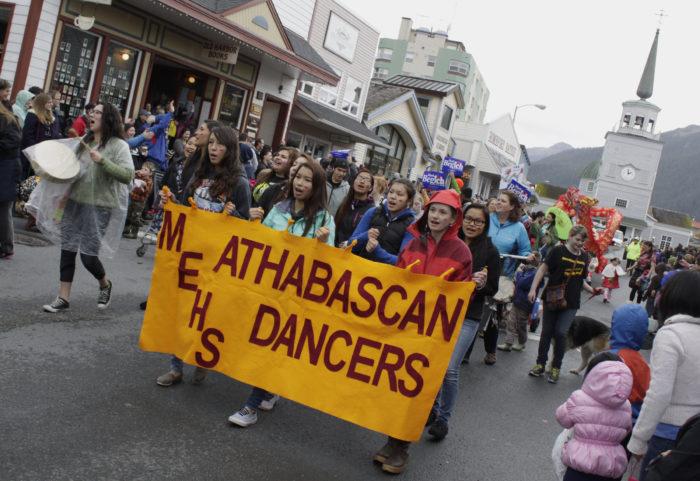 Alaska Day Parade - Flickr - James Brooks