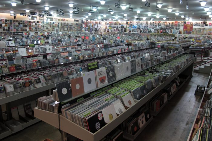 8. Peruse the vinyl section at Amoeba Records (and try to catch a free show while you're at it).