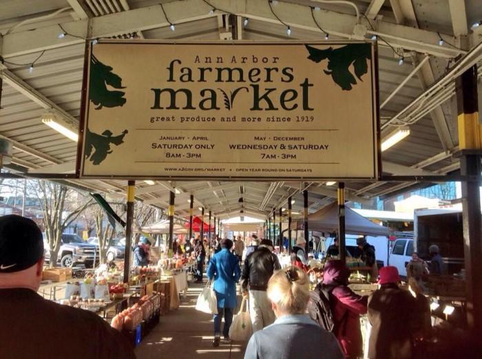 1. Ann Arbor Farmers Market