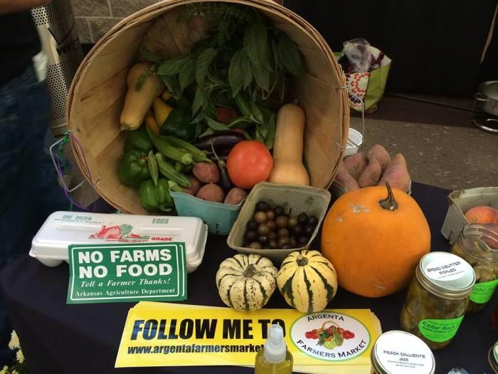 1. Argenta Certified Arkansas Farmers Market (North Little Rock)