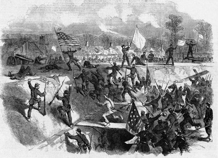 2. Arkansas had a Revolutionary War skirmish.