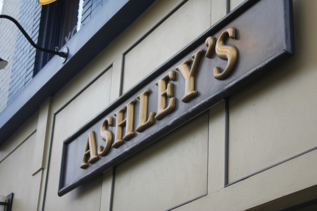 1. Ashley's, Ann Arbor