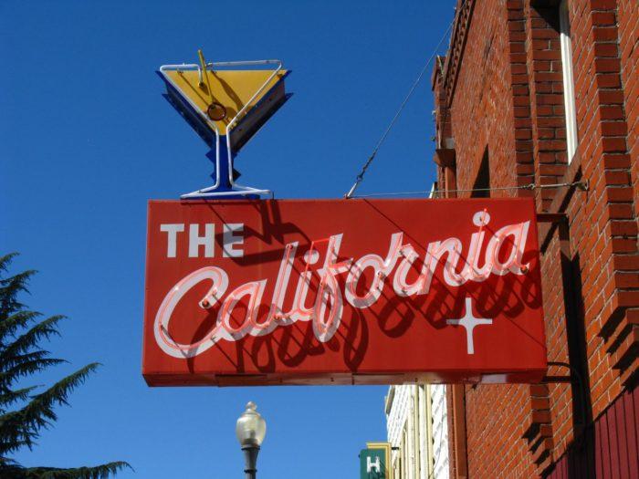 7.  A disdain for California.