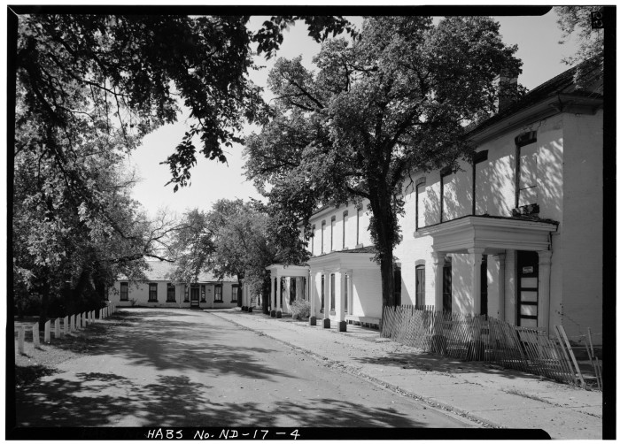 9. Company Street in Fort Totten, ND - 1972