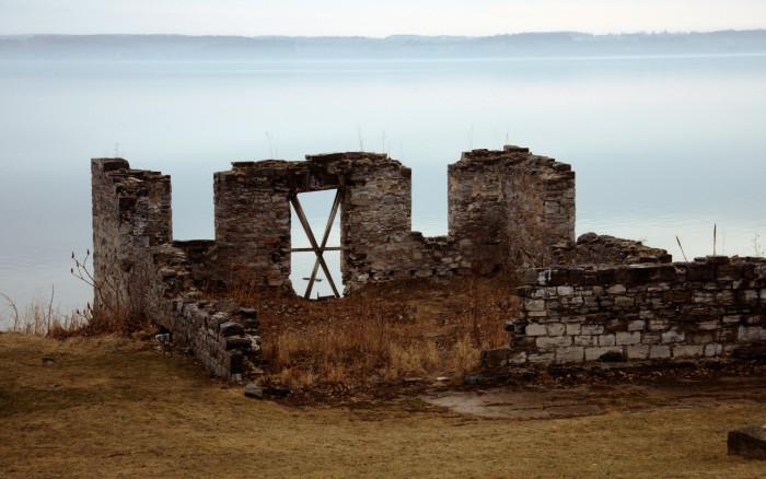 3. The ruins of Aurora Inn, Aurora