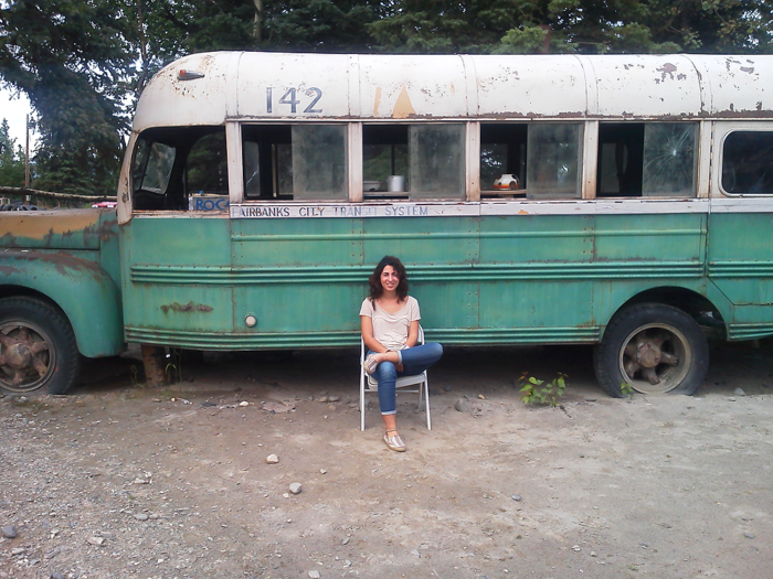 17. Hike to the 'Into the Wild' bus.