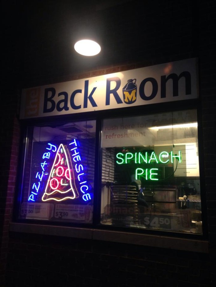 2. Backroom Pizza, Ann Arbor