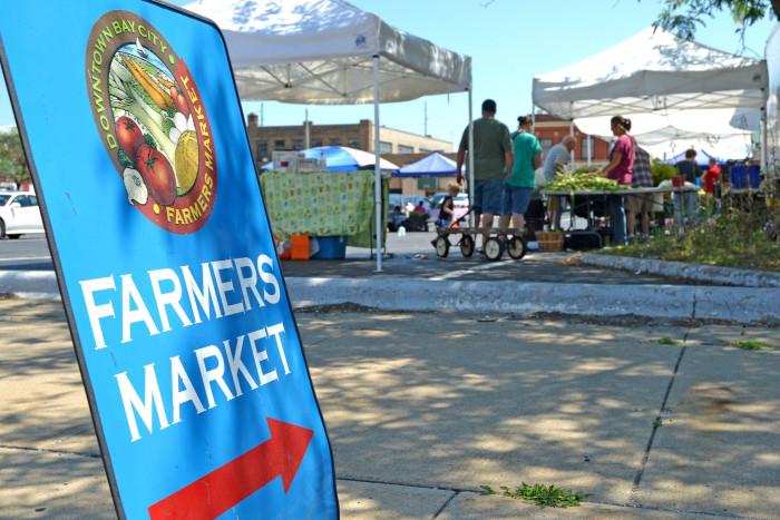2. Downtown Bay City Farmers Market