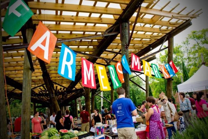 2. Bernice Garden Farmers Market (Little Rock)