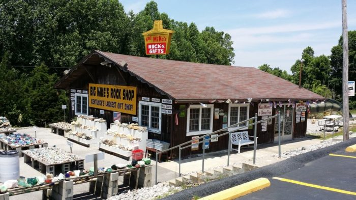 10. Big Mike's Rock and Gift Shop at 566 Old Mammoth Cave Road in Cave City
