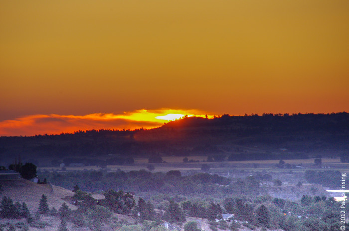 7. This sunrise appearing to bring Billings to life.