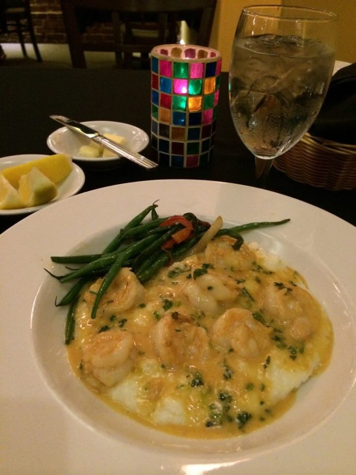 Bill's Shrimp and Grits.