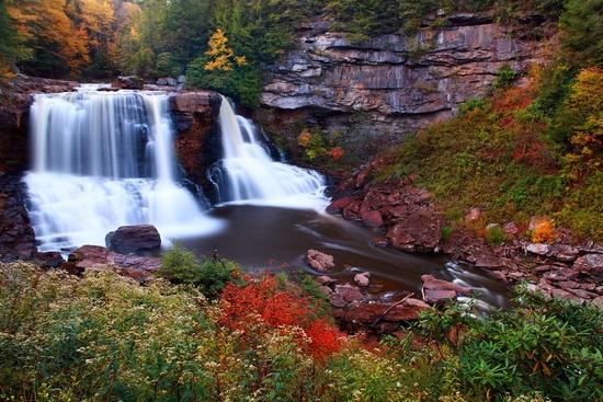2. Blackwater Falls, Davis