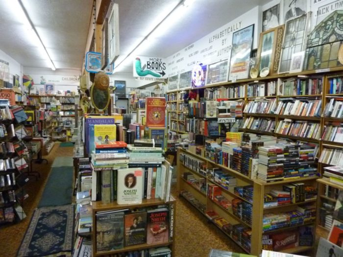 2. Indulge in a little bookstore browsing.